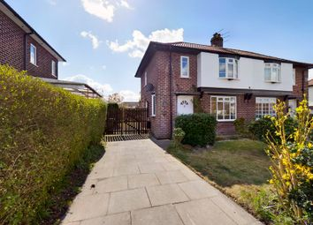 Thumbnail 2 bed semi-detached house for sale in Snowden Avenue, Flixton, Manchester