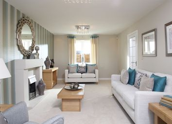 "Thumbnail 4 bed detached house for sale in ""The Verain"" at Fields Road, Wootton, Bedford"