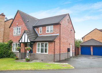 Thumbnail 4 bed detached house for sale in Dexter Way, Middlewich