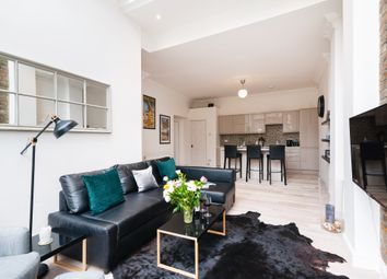 Thumbnail 3 bed flat to rent in Cromwell Crescent, Earls Court, London
