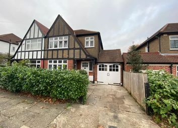Thumbnail 3 bed semi-detached house for sale in Grasmere Avenue, Preston Road, Wembley