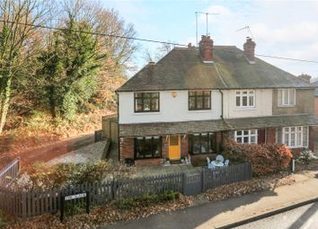 Thumbnail 3 bed semi-detached house for sale in Mons Cottage, The Slade, Lamberhurst, Tunbridge Wells