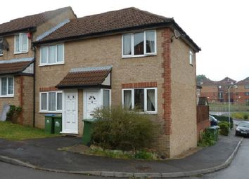 Thumbnail 1 bed end terrace house to rent in Bracklesham Close, Southampton