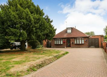Thumbnail 3 bed detached bungalow for sale in Marsh Lane, Water Orton, Birmingham, Warwickshire