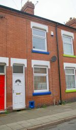 Thumbnail 2 bed terraced house to rent in 143 St. Leonards Road, Clarendon Park, Leicester