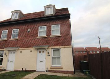 Thumbnail 3 bed semi-detached house for sale in Sandgate, Coxhoe, Durham
