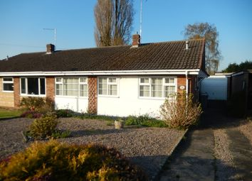 Thumbnail 2 bed semi-detached bungalow for sale in Welland Way, Deeping St. James, Peterborough