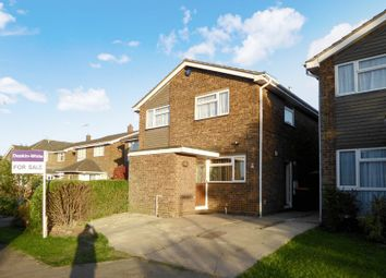 Thumbnail 4 bed detached house for sale in Garrett Close, Dunstable