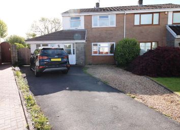 Thumbnail 2 bed semi-detached house for sale in Dunraven Crescent, Talbot Green