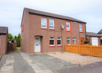 Thumbnail 3 bed semi-detached house for sale in Burghmuir Court, Linlithgow