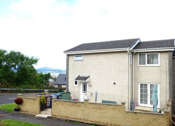 Thumbnail 3 bed end terrace house for sale in Leven Road, Greenock
