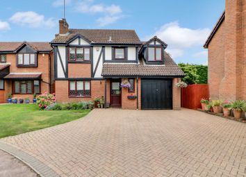 Thumbnail 4 bed detached house for sale in Crees Meadow, Windlesham