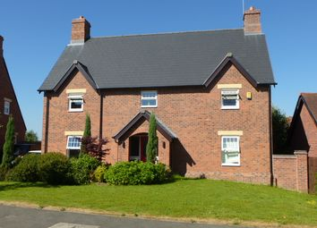 Thumbnail 4 bed detached house to rent in Wychwood Park, Weston, Crewe, Cheshire