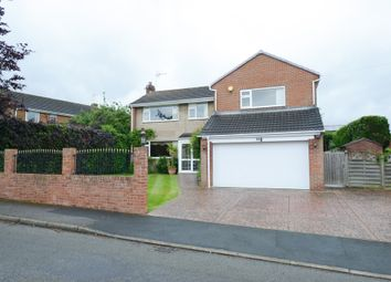 Thumbnail 4 bed detached house for sale in Harehill Crescent, Wingerworth, Chesterfield