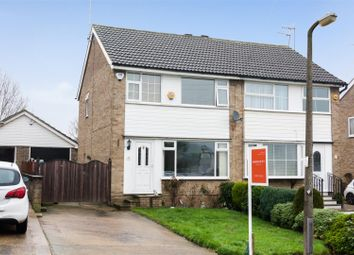 Thumbnail 3 bed semi-detached house for sale in Leamington Drive, Apperley Bridge, Bradford