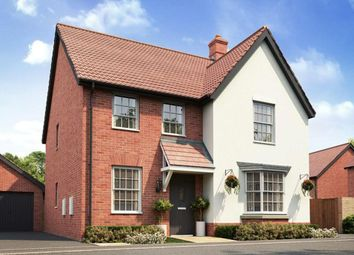 "Thumbnail 4 bedroom detached house for sale in ""Holden"" at Caistor Lane, Poringland, Norwich"