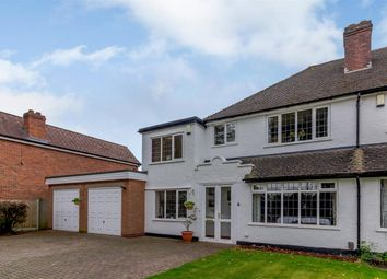 Thumbnail 4 bed semi-detached house for sale in The Boulevard, Sutton Coldfield