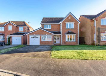 Thumbnail 4 bed detached house for sale in Rosedale Drive, Grantham