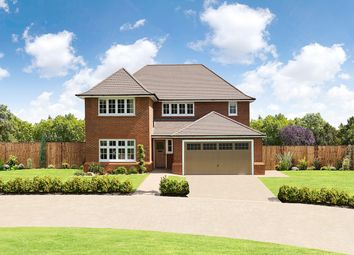 "Thumbnail 4 bed detached house for sale in ""Sunningdale+"" at Cot Hill, Llanwern, Newport"