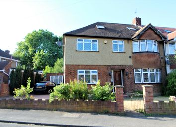 Thumbnail 4 bed semi-detached house for sale in Stanhope Heath, Stanwell, Staines