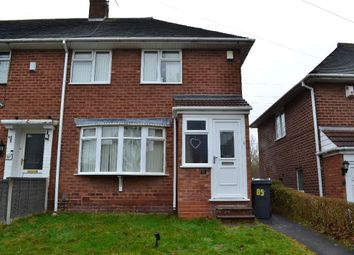 Thumbnail 3 bed semi-detached house to rent in Swinford Road, Selly Oak, Birmingham