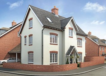 """Thumbnail 4 bed detached house for sale in """"Hexham"""" at Riddy Walk, Kempston, Bedford"""