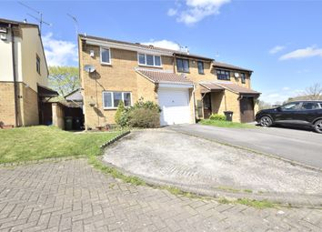 Thumbnail 3 bedroom end terrace house for sale in Wedmore Close, Kingswood