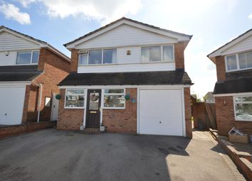 Thumbnail 3 bed detached house for sale in Callan Close, Narborough, Leicester
