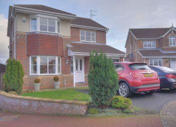 Thumbnail 4 bed detached house for sale in Richmond Close, Bedlington