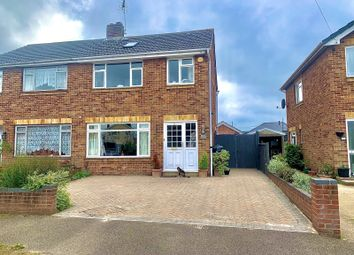 Thumbnail 4 bed semi-detached house for sale in Richlans Road, Hedge End, Southampton