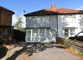 Thumbnail 3 bed semi-detached house for sale in Arcot Road, Hall Green, Birmingham