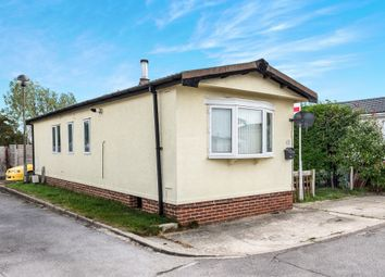 Thumbnail 2 bedroom mobile/park home for sale in The Crescent, Sandford-On-Thames, Oxford