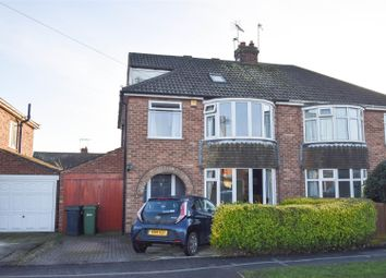 Thumbnail 4 bed semi-detached house for sale in Brockfield Park Drive, Huntington, York