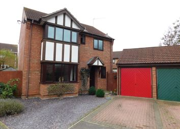 Thumbnail 4 bed detached house for sale in Spencer Way, Stowmarket
