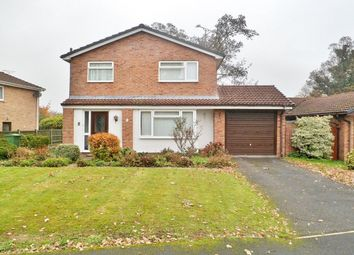 Thumbnail 3 bed detached house for sale in Woodside Court, Rhostyllen, Wrexham