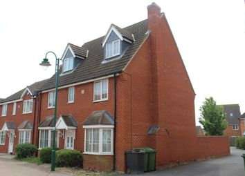 Thumbnail 4 bed detached house to rent in Oak Avenue, Hampton Hargate, Peterborough