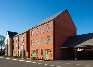 "Thumbnail 3 bed semi-detached house for sale in ""Cannington"" at Fen Street, Wavendon, Milton Keynes"
