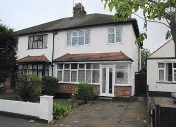 Thumbnail 3 bed semi-detached house for sale in Barnard Road, Leigh-On-Sea