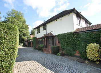 Thumbnail 4 bed detached house for sale in Caldecote Lane, Bushey