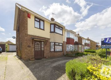 Thumbnail 3 bed semi-detached house for sale in Leander Drive, Gravesend, Kent