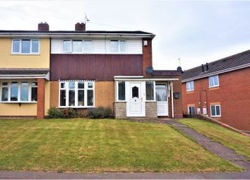Thumbnail 3 bed semi-detached house for sale in Fishley Lane, Bloxwich, Walsall