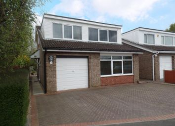 Thumbnail 4 bed detached house for sale in Canterbury Drive, Washingborough, Lincoln
