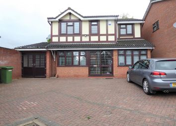 Thumbnail 4 bed detached house to rent in Coombe Croft, Pendeford, Wolverhampton