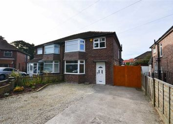 Thumbnail 3 bed semi-detached house to rent in Broad Oak Lane, Didsbury, Manchester, Greater Manchester
