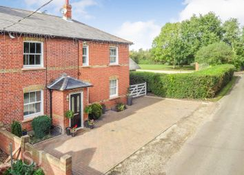 Thumbnail 4 bedroom semi-detached house for sale in Ferry Road, Creeksea, Burnham-On-Crouch