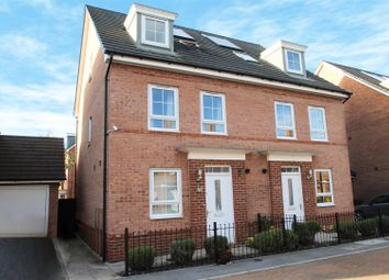 Thumbnail 4 bed town house for sale in Breconshire Gardens, Basford, Nottingham
