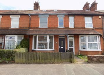 Thumbnail 3 bed terraced house to rent in Cornwall Road, Felixstowe