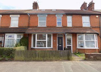Thumbnail 3 bedroom terraced house to rent in Cornwall Road, Felixstowe