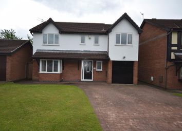 Thumbnail 4 bed detached house for sale in Bishopdale Close, Great Sankey, Warrington