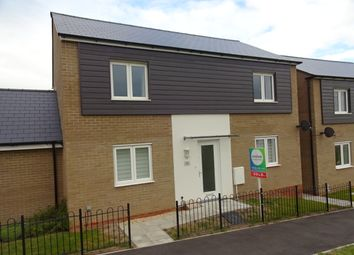 Thumbnail 4 bed detached house to rent in Shackleton Road, Yeovil